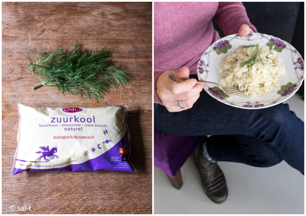 zuurkool-salade-appel-dille